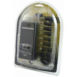Sumvision Universal Laptop Charger 95W 9 Tips